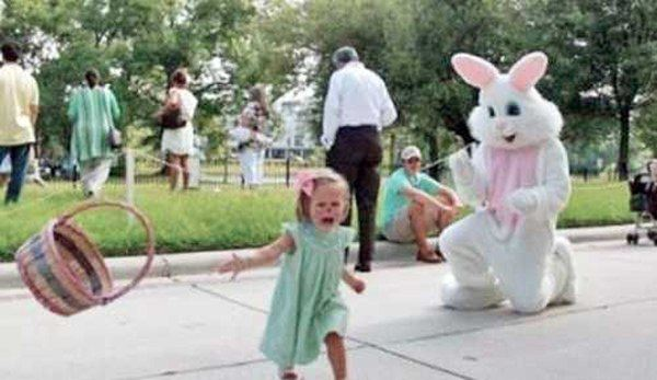 Easter Bunny Terror