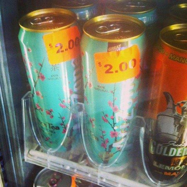 Expensive Arizona Ice Tea
