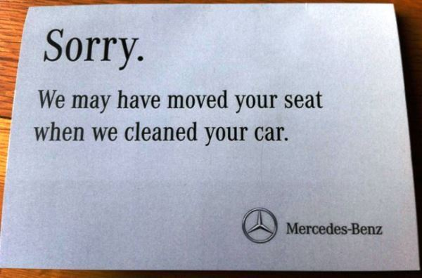 First World Problems Mercedes
