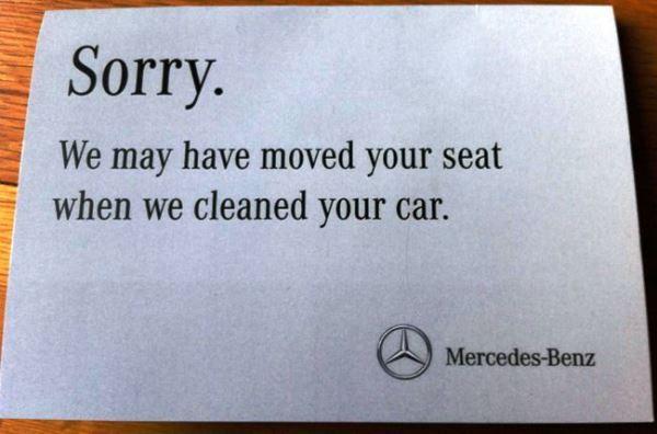 First World Problems Mercedes