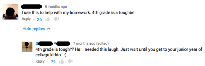 Fourth Grade Burn