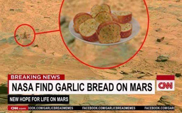 Garlic Bread Mars