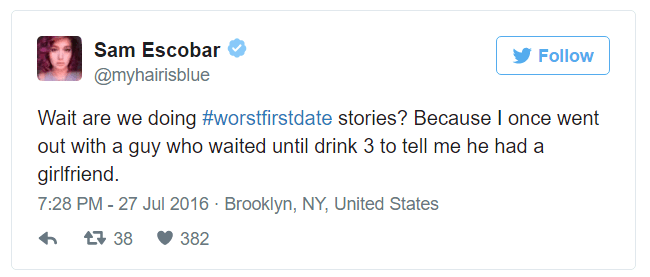 Hilarious Stories About The Worst First Dates