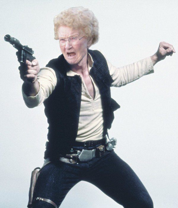 Funny Photoshops Granny Solo