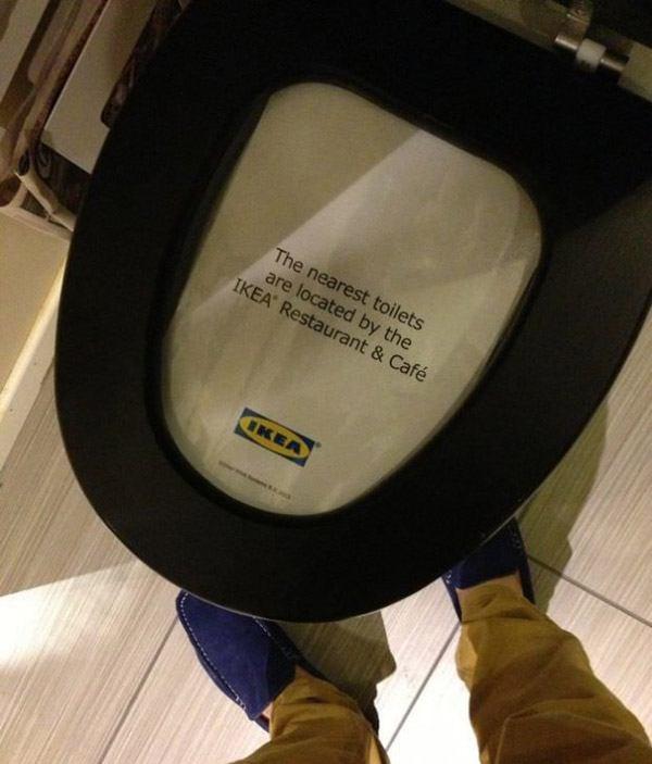 Ikea Toilets
