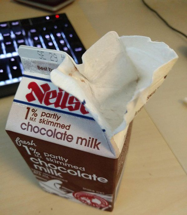 Milk Carton First World Problems