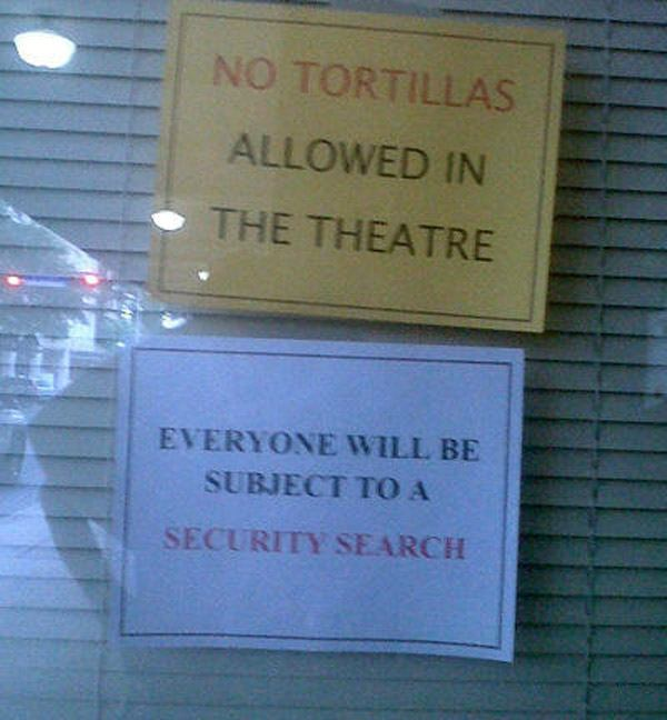 No Tortillas