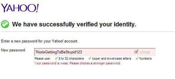 Password Creation