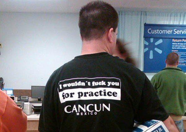 Practice Fuck Shirt