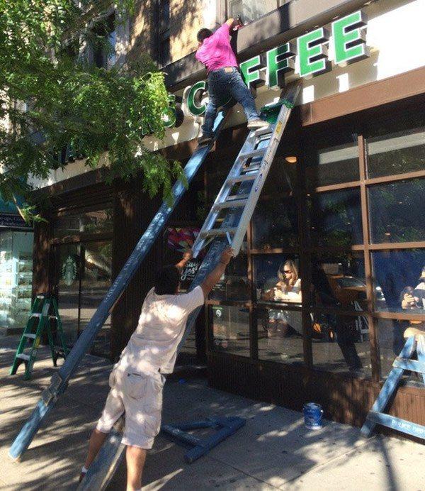 Risky Ladder