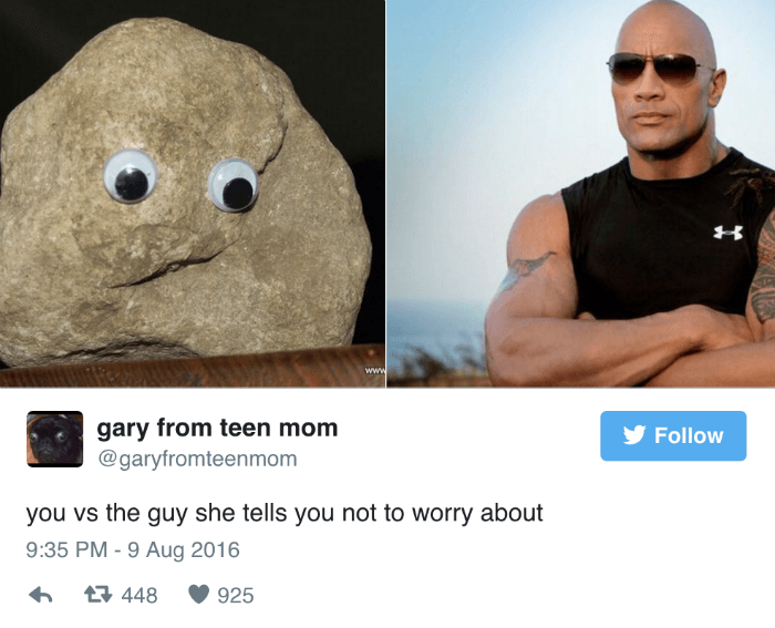 Rock Vs The Rock