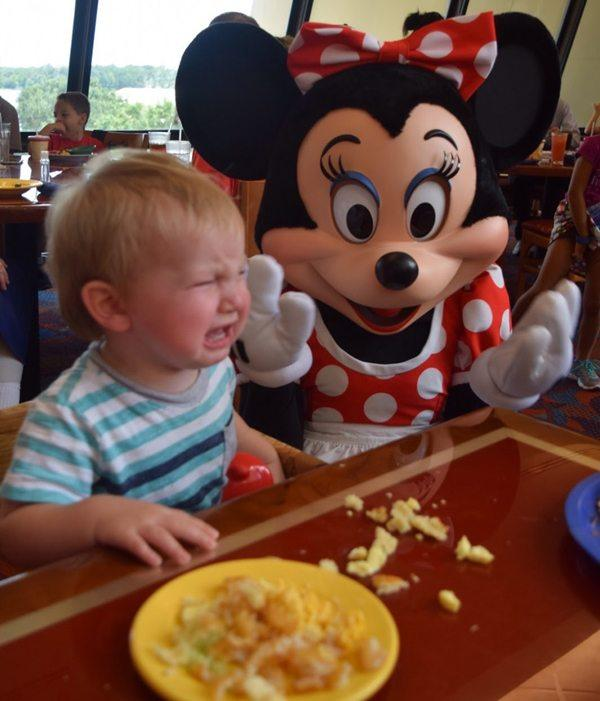 Scared Of Minnie