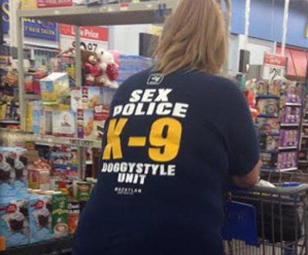 Sex Police K9 Shirt