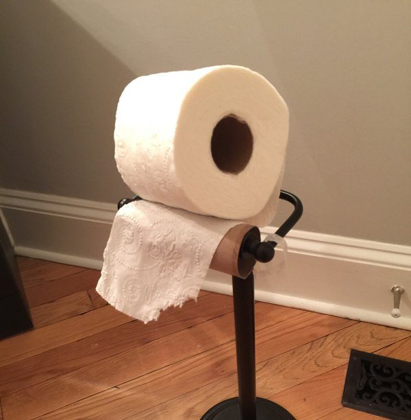 Toilet Paper Fail