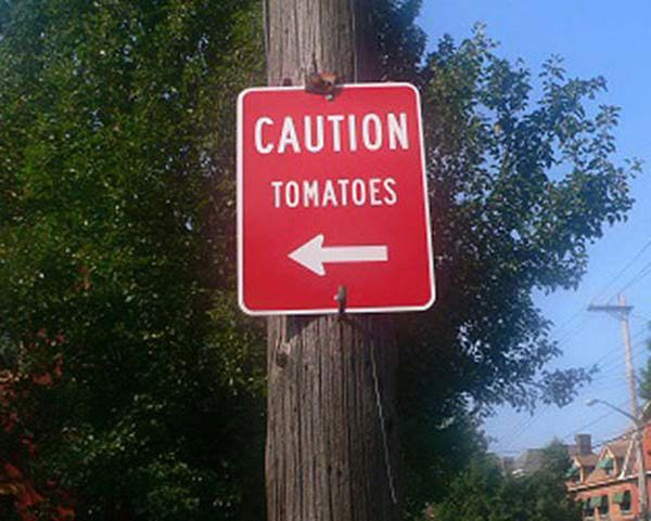 Tomatoe Caution