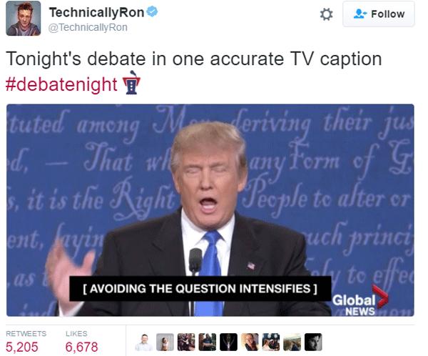 Tweets Captions