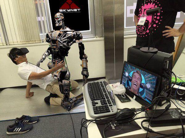 Virtual Terminator Sex