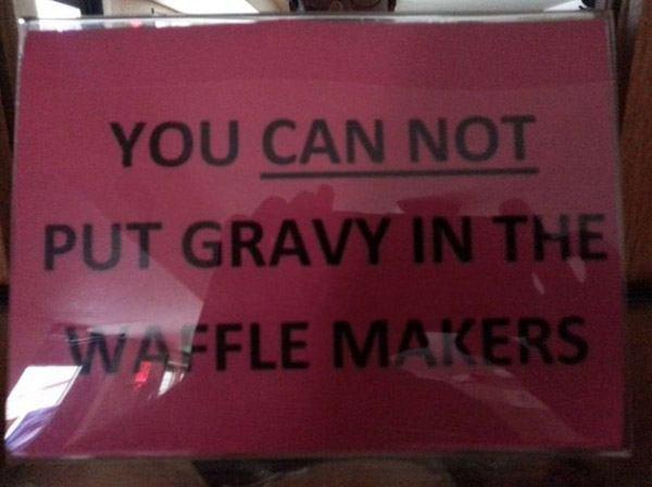 Waffle Gravy