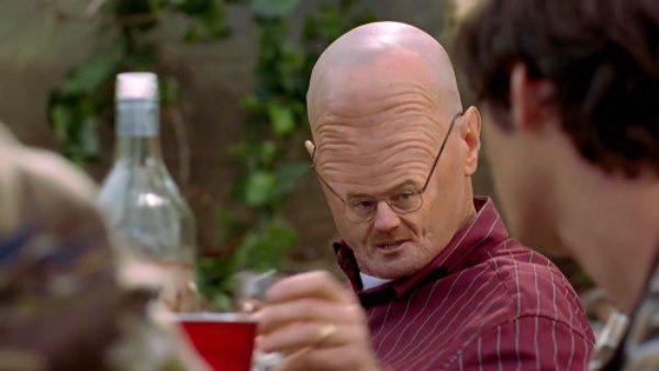 Walter White Forehead