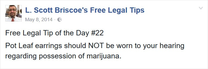 Accessorize Properly Not With Weed