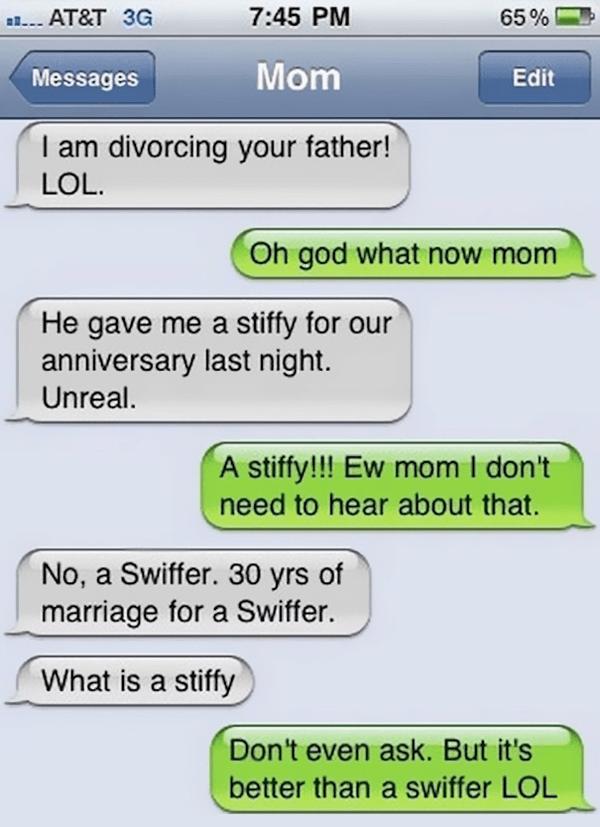Hilarious Mom Texts
