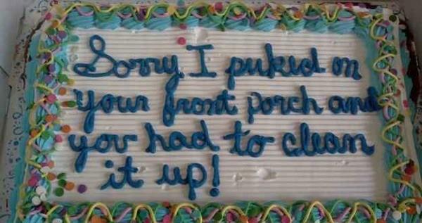 Bad Roommate Cake
