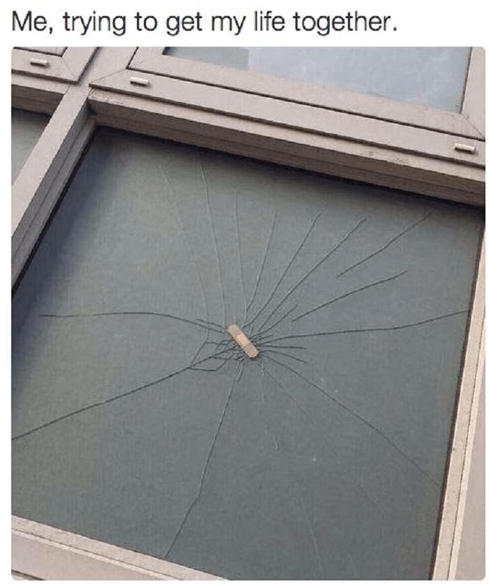 Bandaid Window