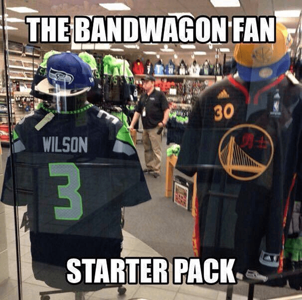 Bandwagon Fan Starter Pack