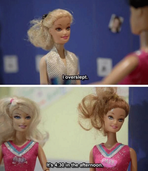 Barbie Is Late