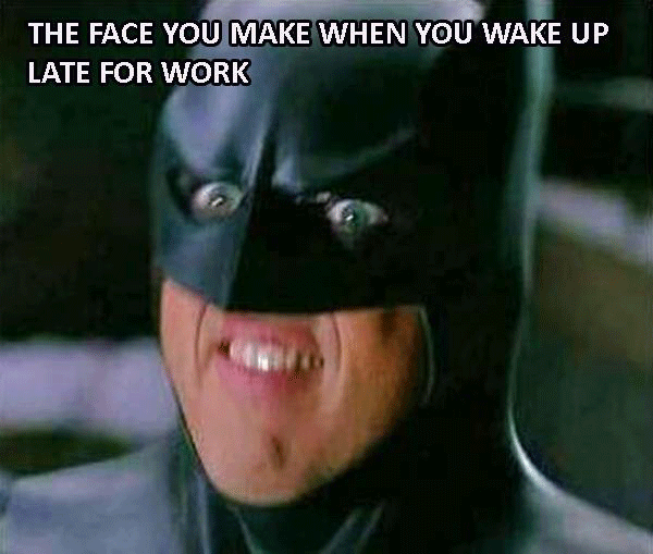 Batman Is Late