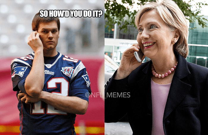 Brady Clinton Scandals