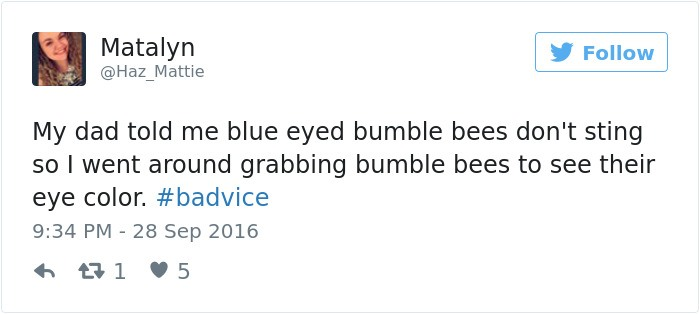 Bumble Bees Sting Bad