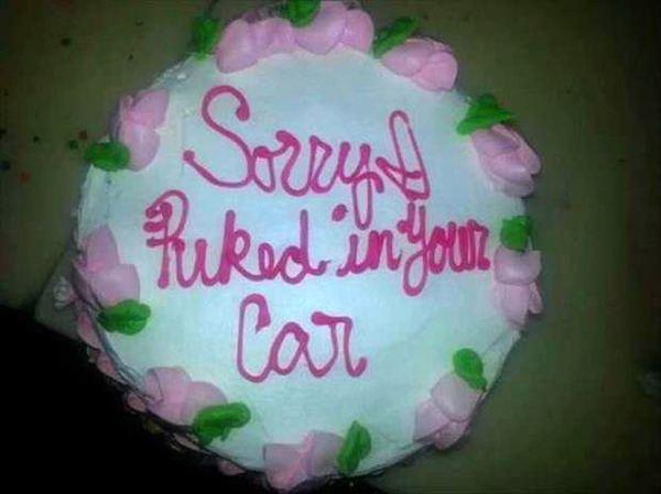 Car Fuck Cake