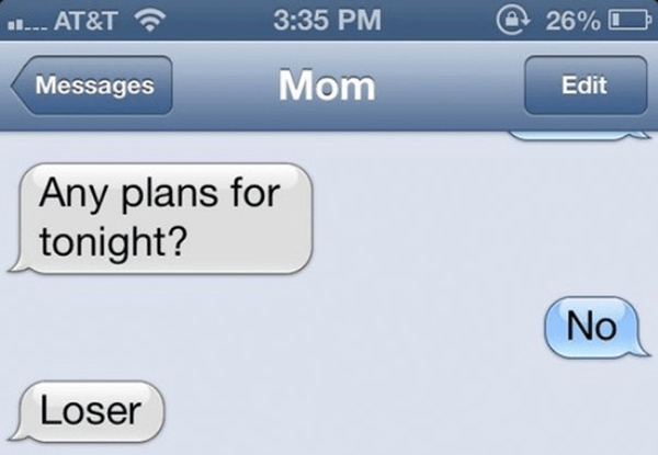 Cool Mom Texts