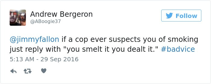 Cop Smells Smoke
