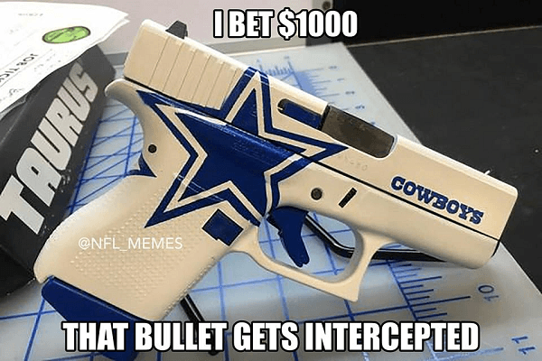 Cowboys Interception