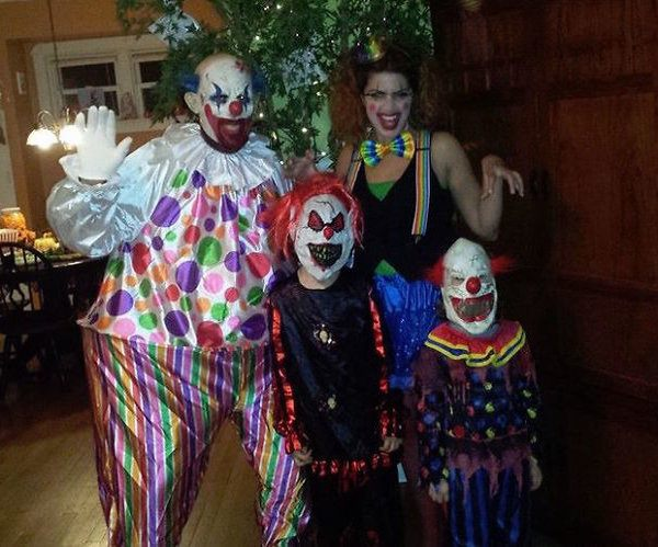 Creepy Clown Family