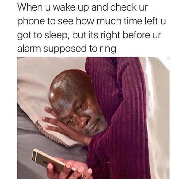 Crying Jordan In Bed