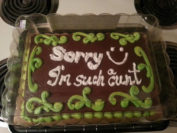 Cunt Apology