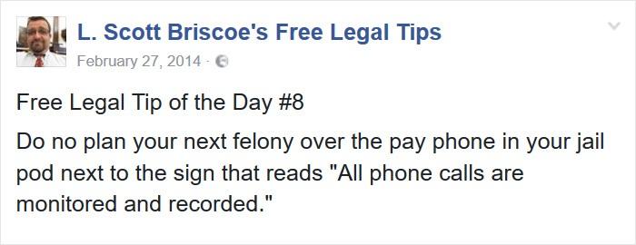 Do Not Plan Crime Over Phone
