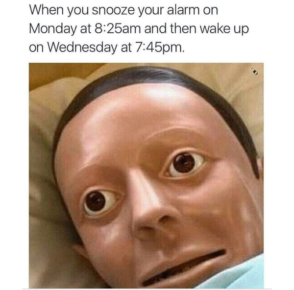 Dummy Snooze Alarm