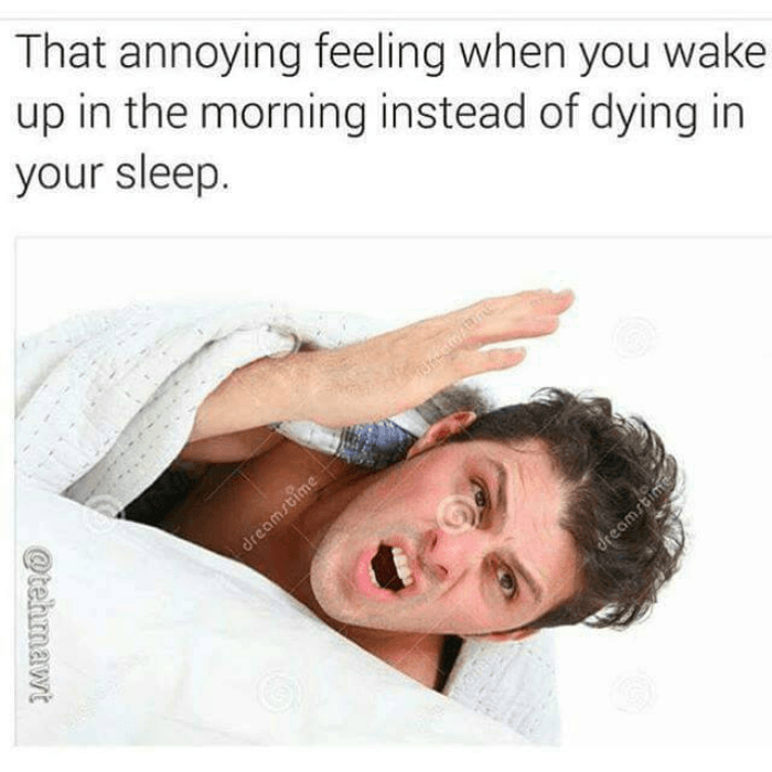 Dying In Your Sleep