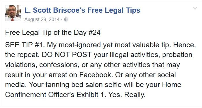 Funny Free Legal Tips On Social Media Sharing