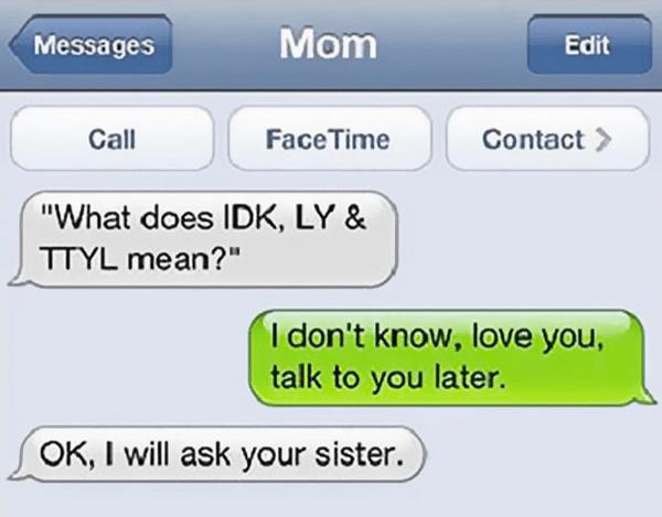 Funny Innocent Mom