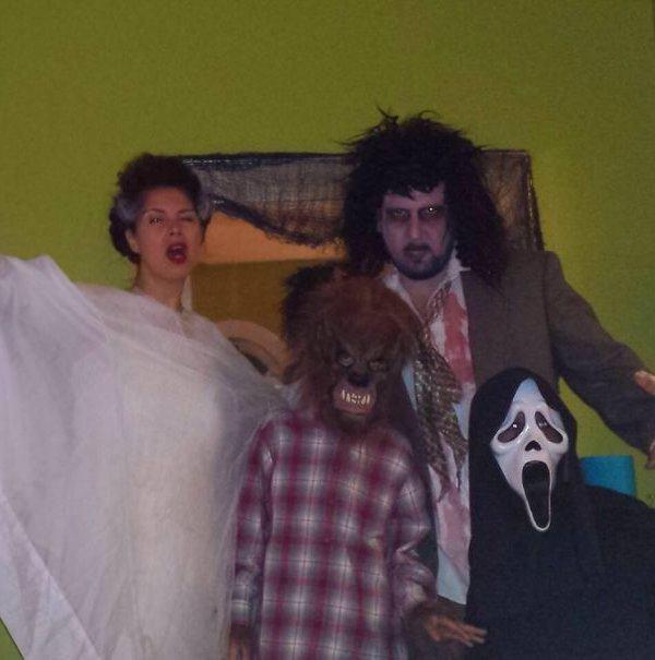 Ghouls Parent Children Costume Ideas