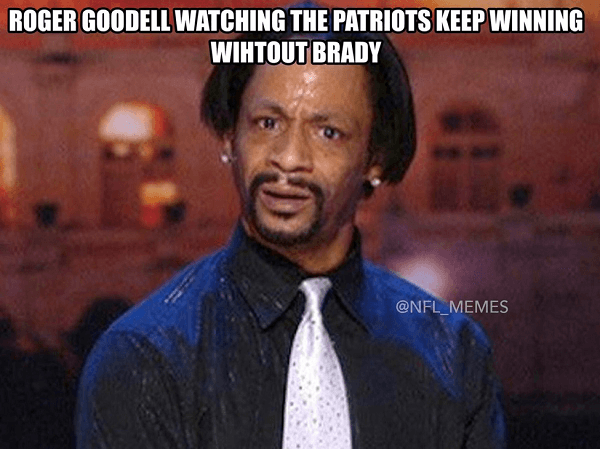 Goodell Patriots Winning Nobrady