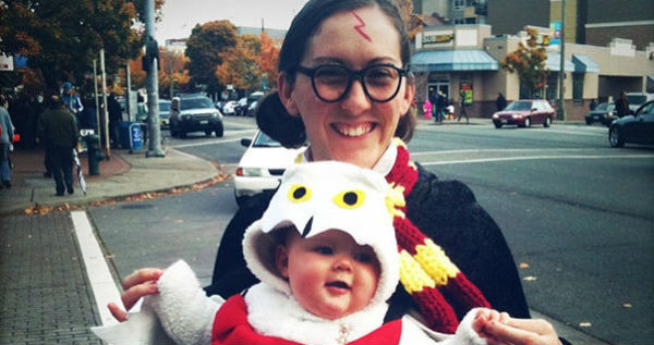 Harry Potter And Hedwig Owl Costume