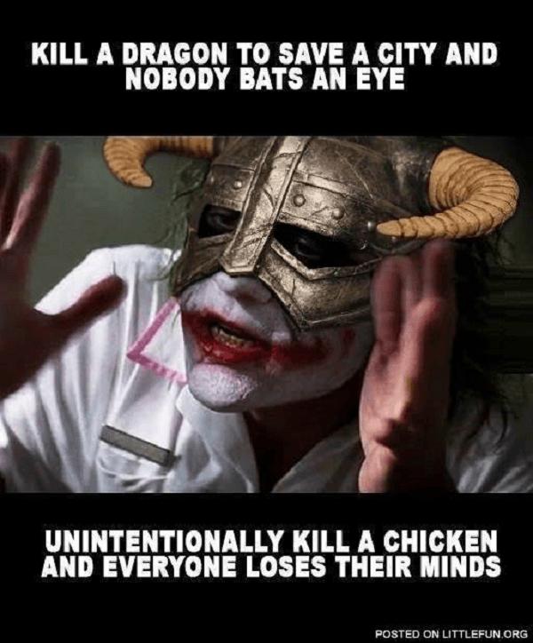 Joker Dragon Chicken