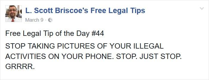 Legal Attendance Considers Selfie As Proof