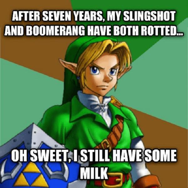 Link Old Milk